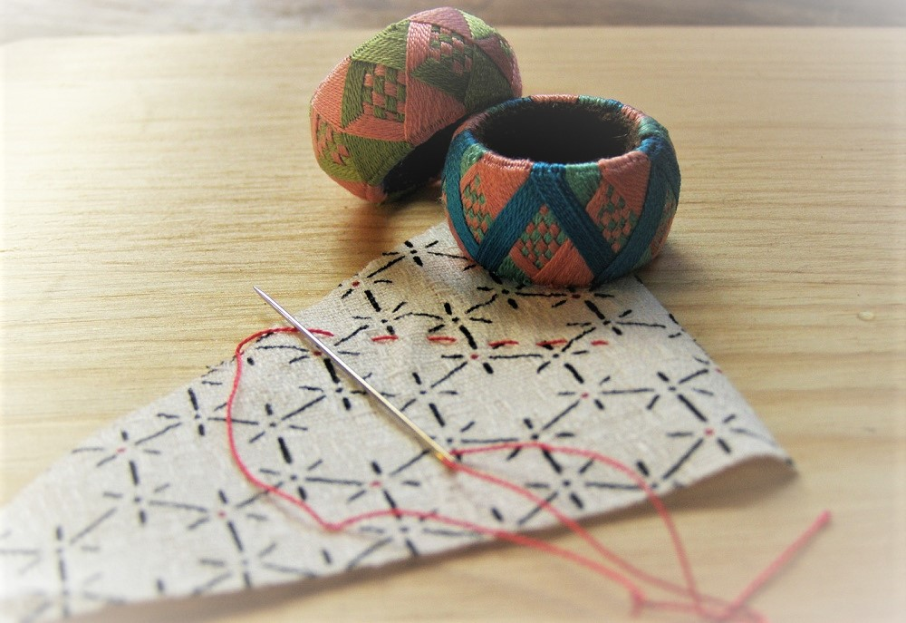 伝統工芸の加賀指ぬきの使い方