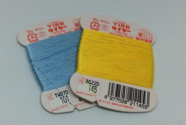 手まりアクセサリーの糸、おすすめは?