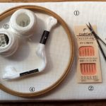 ハーダンガー刺繍の道具