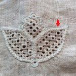 シュバルム刺繍の注意点