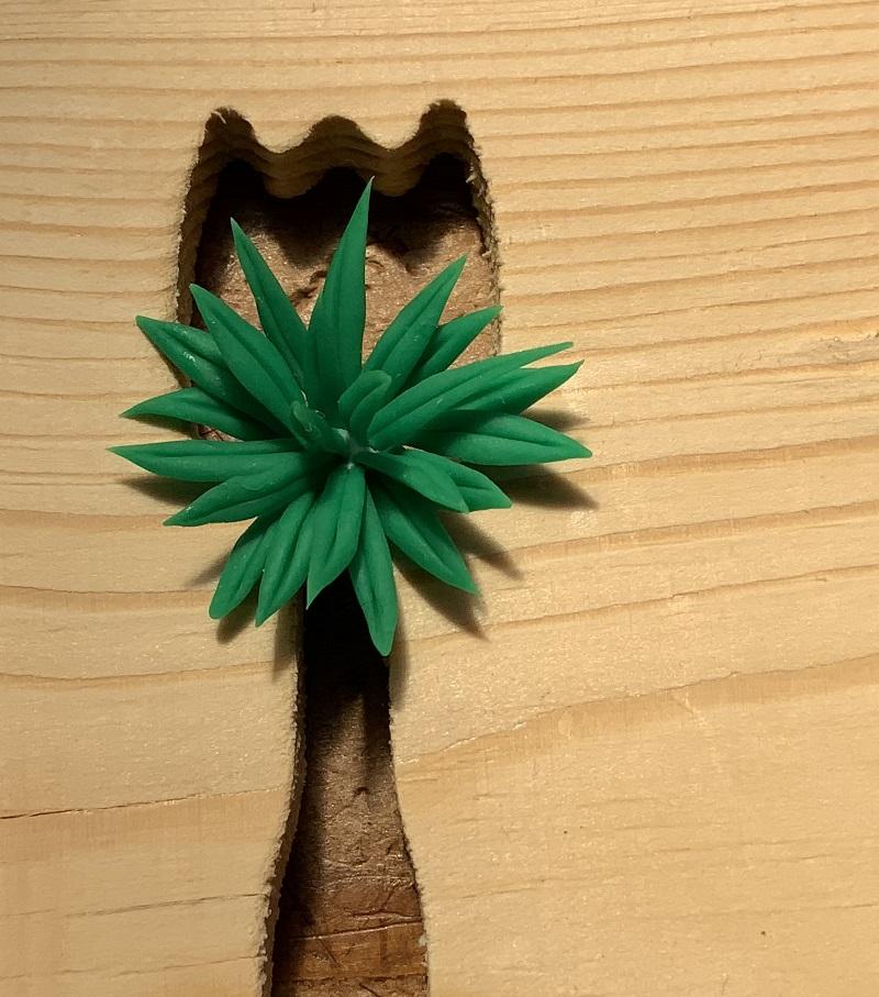 カイマギョクの葉っぱの組み立て