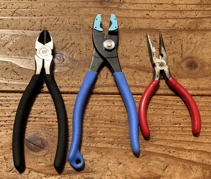ワイヤークラフトの道具