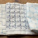 刺し子の布